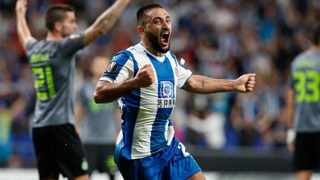 Vargas marcó el gol del empate ante el Ferencvaros