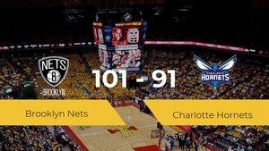 Victoria de Brooklyn Nets en el Barclays Center ante Charlotte Hornets por 101-91