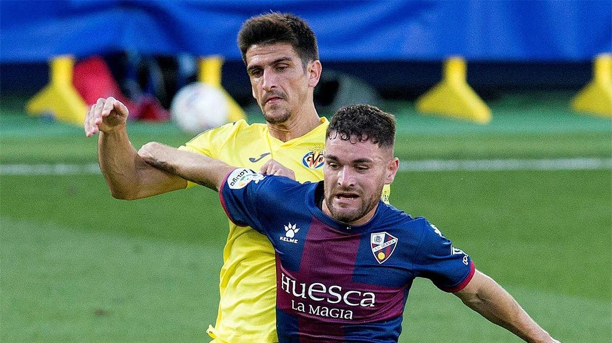 El Villarreal se topa con el Huesca