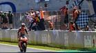 Márquez celebra su última victoria en Jerez