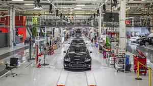Fremont, la planta de Tesla en California.