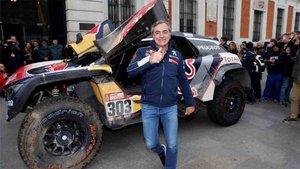 Carlos Sainz analizó el Dakar 2019