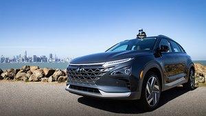 Hyundai Nexo equipado con tecnología autónoma.
