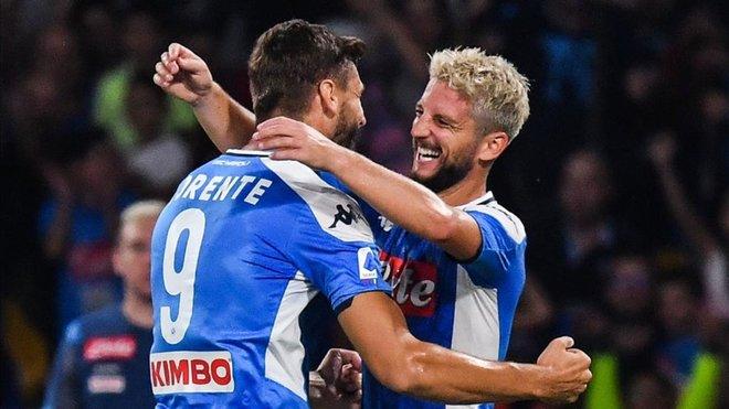 El Nápoles regresa a la victoria con doblete de Mertens