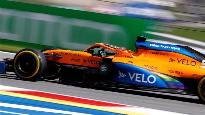 McLaren pide perdón a Sainz por su error en Austria