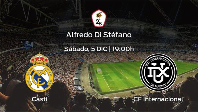 Jornada 7 de la Segunda División B: previa del duelo RM Castilla - Internacional