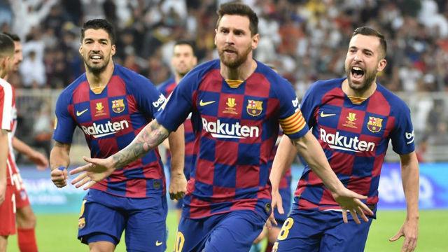 El 1x1 del Barça-Atlético de Madrid