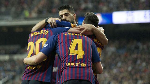 La alineación del FC Barcelona ante el Liverpool