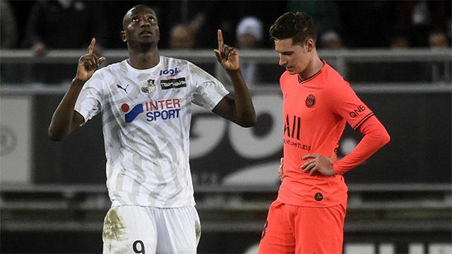 El Amiens frena al PSG