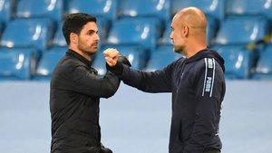 Arteta y Guardiola volverán a verse las caras