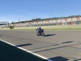 Así ha sido la primera vuelta de Àlex Márquez con la Honda