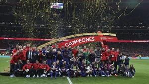 El FC Barcelona suma cuatro Copas del Rey consecutivas