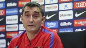 Bartomeu confirmó a Valverde en el banquillo del Barcelona