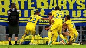 El BATE celebró la primera victoria en la Liga