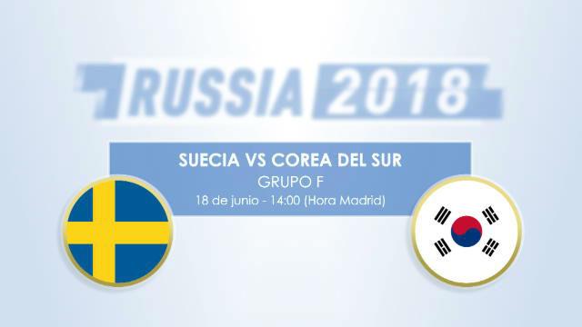 Cara a cara: Suecia vs Corea del Sur