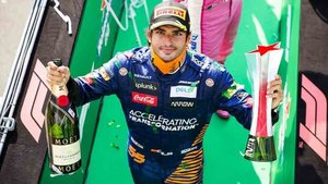 Carlos Sainz volvió a subir al podio de la Fórmula 1