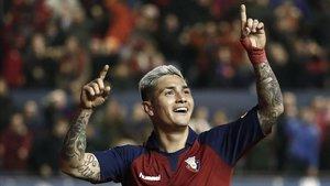 Chimy Ávila sonó para el Barça