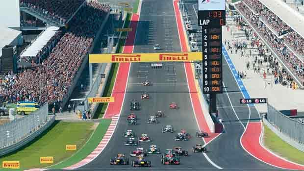 El circuito de las Américas del GP de las Américas de F1 (ES)