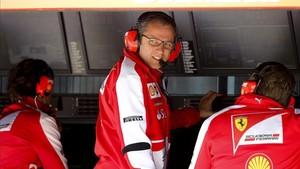 Domenicali , en su etapa en Ferrari