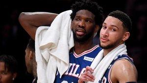 Embiid y Simmons, poder internacional para los Sixers