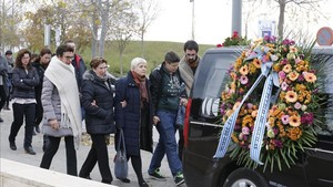 El espanyolismo rindió el último homenaje a Juanjo Díaz