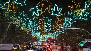 Este es el horario del encendido de luces de Navidad en Barcelona