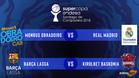 Este miércoles se conocieron los cruces de la Supercopa ACB