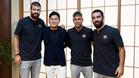 Gerard, Neymar y Arda están en Japón visitando a los directivos de Rakuten
