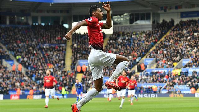 Golazo por la escuadra de Rashford ante el West Ham en la FA Cup