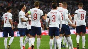 Inglaterra recibirá en Wembley a Montenegro