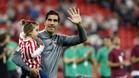 Iraizoz se despidió tras militar la última década en el Athletic
