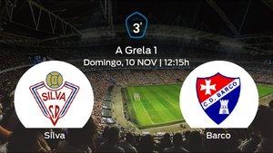 Jornada 12 de la Tercera División: previa del duelo Silva SD - Barco