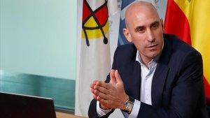 José Luis Rubiales, presidente de la RFEF