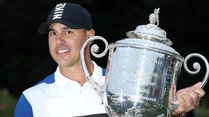 Koepka, segundo PGA Championship y número uno mundial