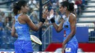 Las hermanas Mapi y Majo superaron sin problemas la semifinal