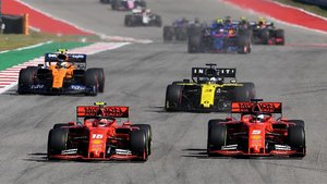 Leclerc y Vettel, en Austin