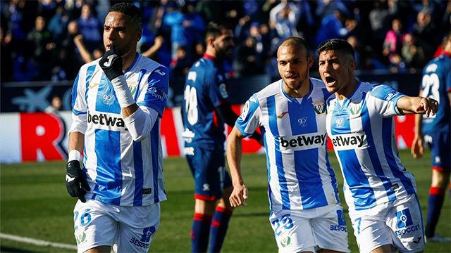 El Leganés consigue una victoria vital ante el Huesca