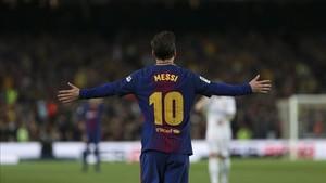Leo Messi puede dar la puntilla a Florentino