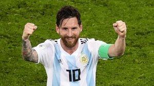 Leo Messi volverá a defender la camiseta de Argentina este mes de marzo