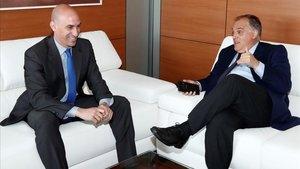 La Liga y la Federación se reunirán este martes para negociar los convenios