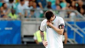 Lionel Messi no tuvo su mejor noche