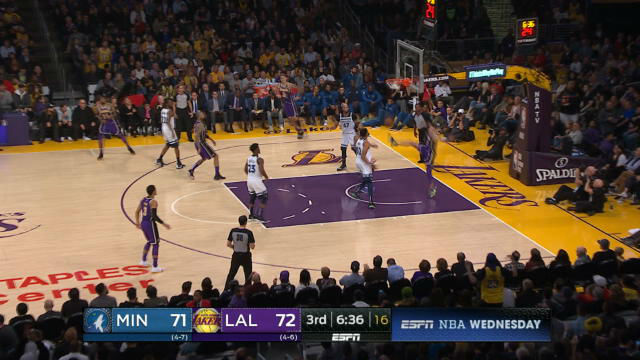 Los Lakers se imponen a Minnesota en otro partido muy ajustado