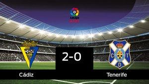 Los tres puntos se quedaron en casa: Cádiz 2-0 Tenerife