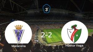 La Maracenay el Huétor Vegase reparten los puntos en el Ciudad Deportiva Maracena (2-2)
