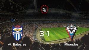El Mirandés se lleva el ascenso a Segunda División a pesar de sufrir en el partido (3-1)