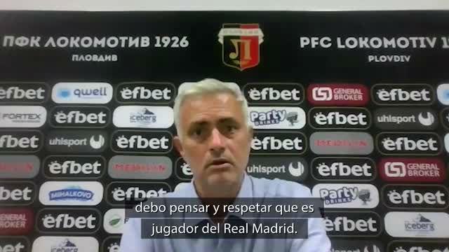 Mourinho: ¿Bale? No puedo hablar de algo que no sé