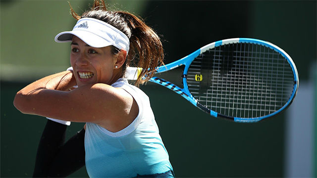 Muguruza se despide de Indian Wells
