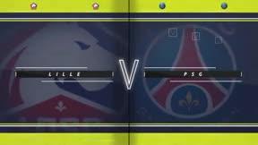 Neymar dio la victoria al PSG ante el Lille