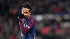 Neymar fue clave para la contundente victoria del PSG ante el Dijon