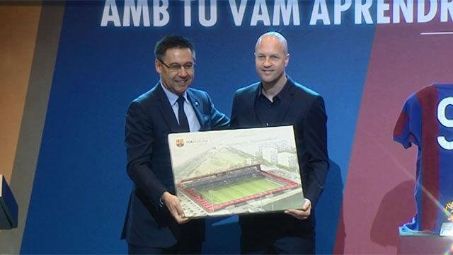 El nuevo Miniestadi se denominará Estadi Johan Cruyff
